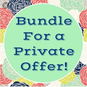 Amazing bundle deals on 3 or more items!!!